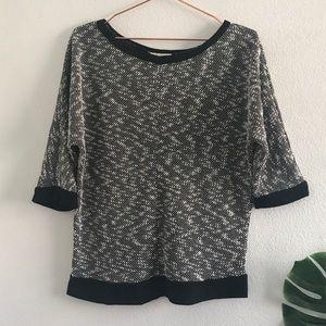 Ann Taylor LOFT textured blouse